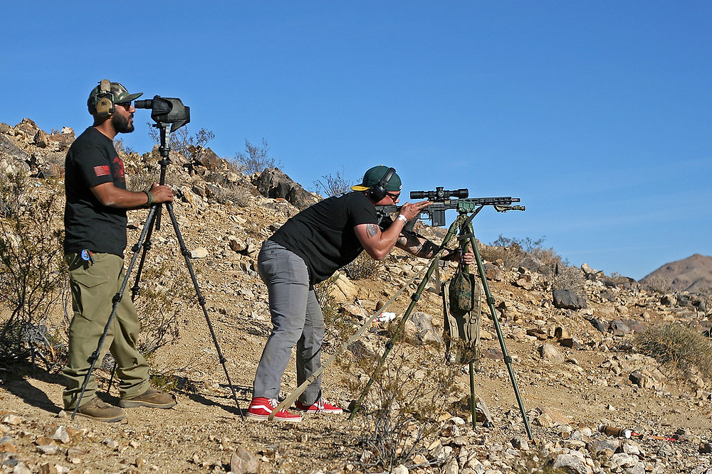 Spotter and shooter