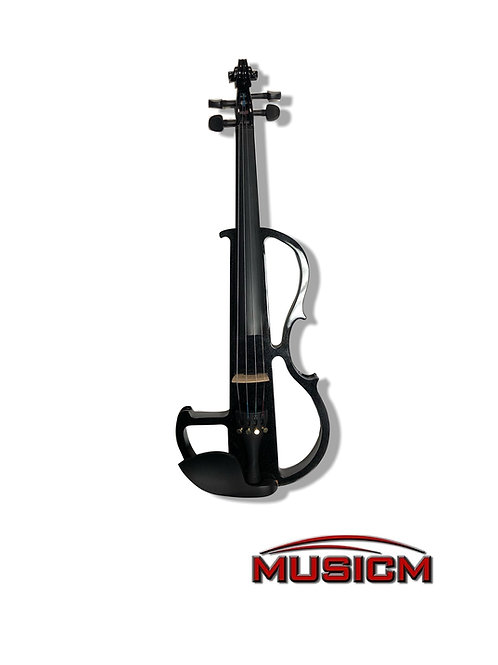 Electric Silent Violin Black