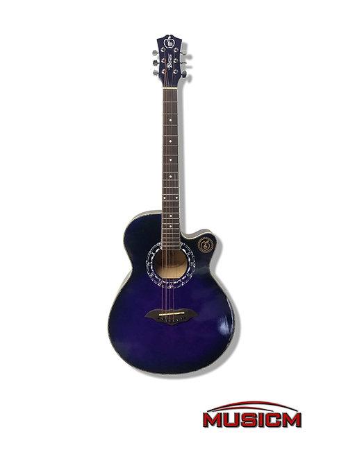RC Purple Acoustic Guitar (RC-408 PR)