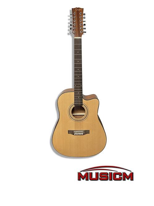 Smiger 12 String Acoustic Guitar