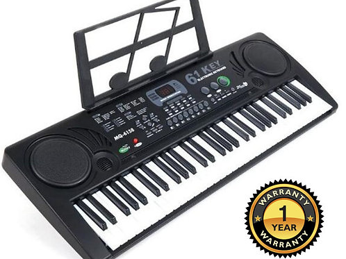 61-Key Electronic Keyboard