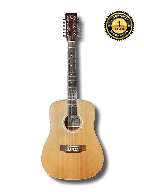 12 Strings Acoustic Guitar