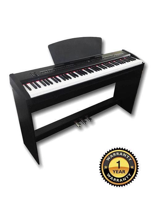 Digital Piano 88 Gradually Weighted Keys P-65 3 Pedal Brand New
