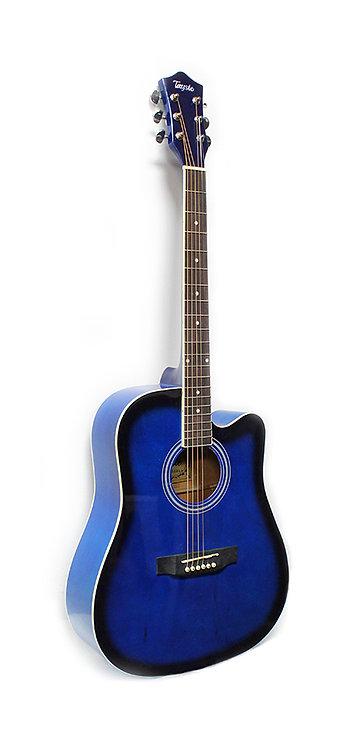 T-411 Acoustic Guitar Blue