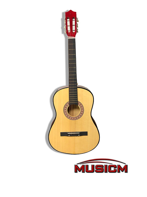 """Natural Acoustic Guitar 38"""""""