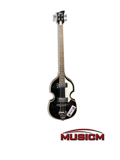 Black Hofner Violin Bass
