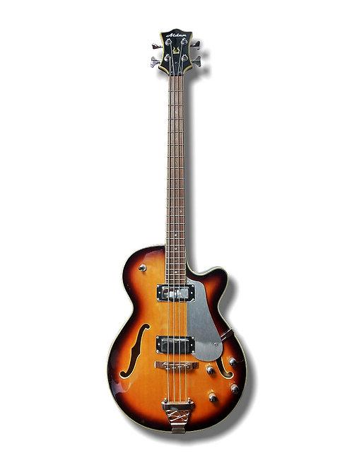Alden Hollow-Body Bass Guitar