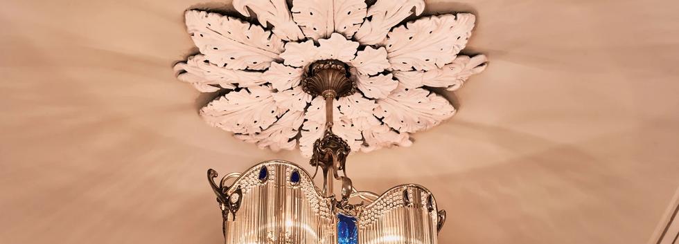 Handmade Hector Guimard Chandelier in Grand Hall