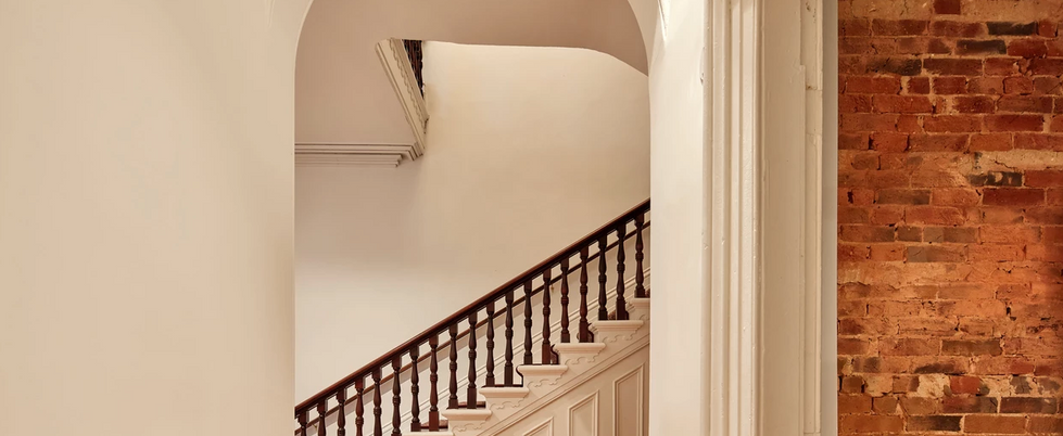 The Original 1855 Grand Staircase