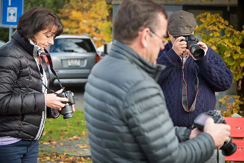 - Workshop Grundlagen Fotografie - 30. Oktober 2021