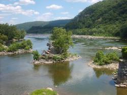 West Virginia River Fork