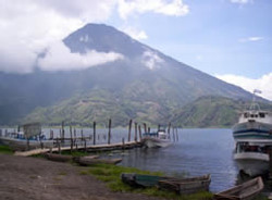 Panajachel, Guatemala Volcano