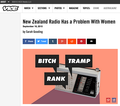 New Zealand radio has a problem with women Thane Kirby Kara Rickard George FM 95bFM sexism sexist media culture by Sarah Gooding