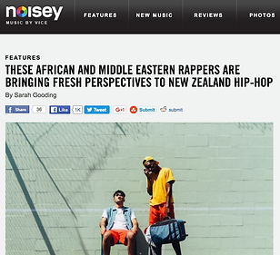 Feature on the African and Middle Eastern rappers who are revitalizing New Zealand Hip-Hop, for Noisey