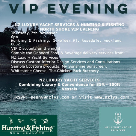 VIP EVENT WITH HUNTING & FISHING NORTH SHORE