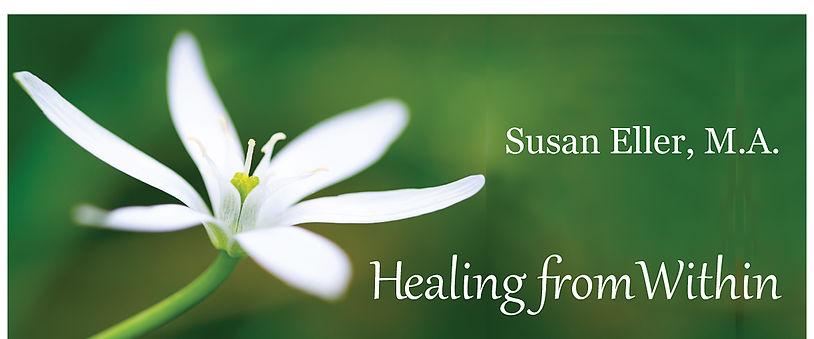 Susan Eller, M.A. Spiritual Counselor, Intuitive Life Coach specializing in Women's Self-Empowerment, helps you clear limiting beliefs, expand awareness and connect with your true power.