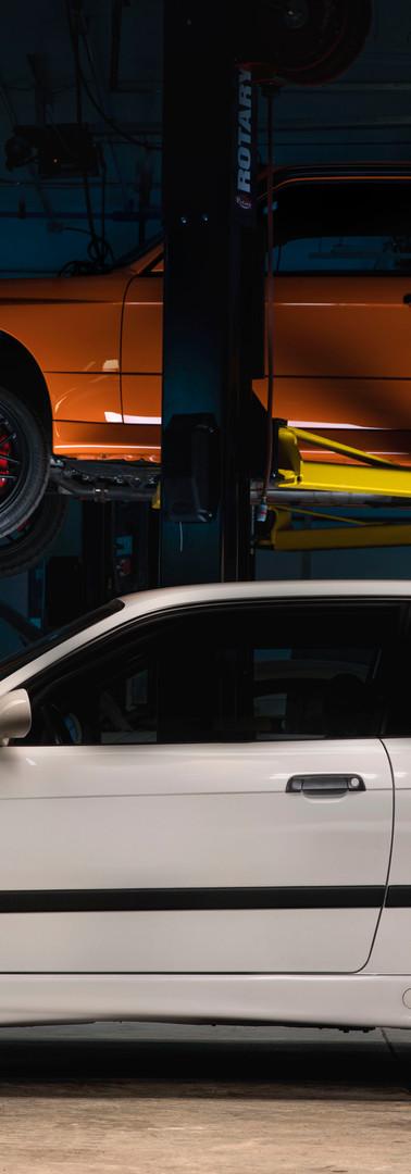 BMW E36 M3 LTW & E30 LRPE