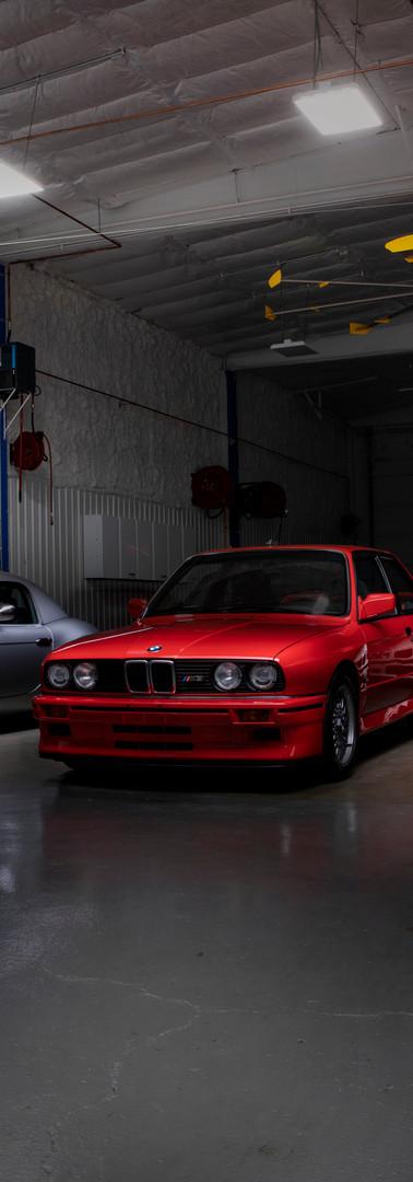 Group of BMWs
