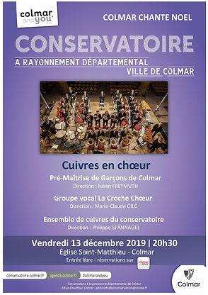 Affiche Concert Philippe SPANNAGEL 13-12