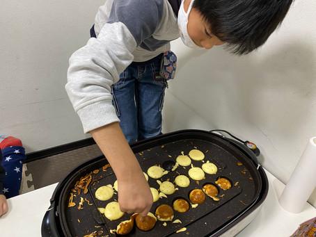 11月調理実習【ベビーカステラ】