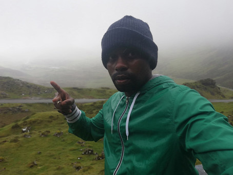 Lewa is running the Isle of Skye Half Marathon