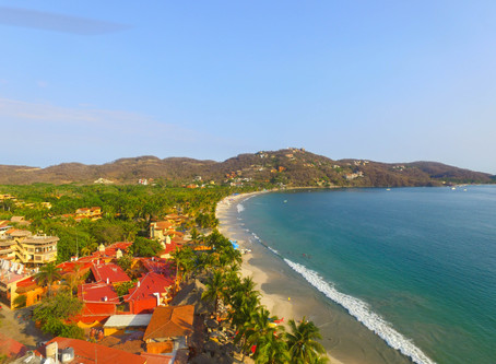 Hermosas playas de Zihuatanejo