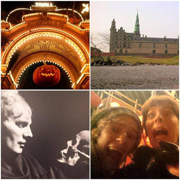 Tivoli, Copenaghen, Helsingor, Kronborg Slot, Amleto