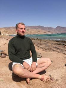 Sitzen und den Geist erforschen