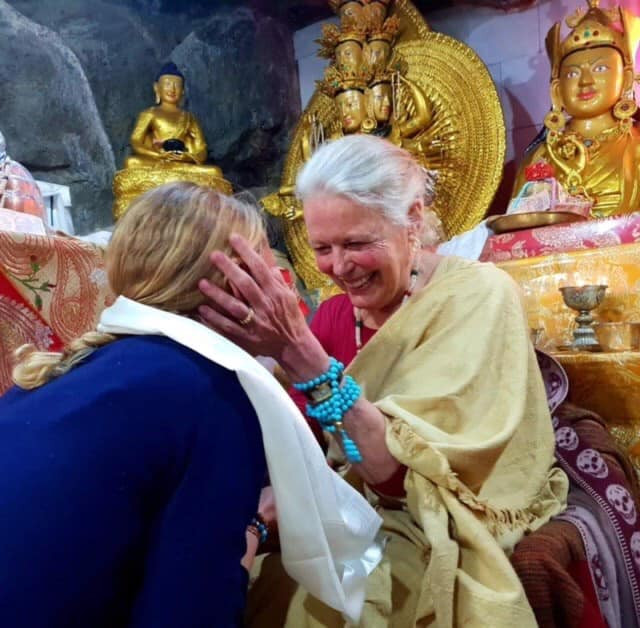 Rinpoche in the Holy Caves
