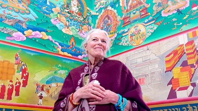 Ziji Rinpoche in the Great Hall, Tso Pema