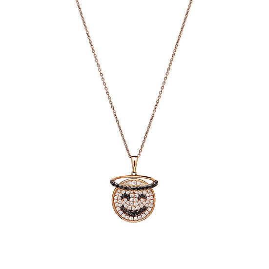 Saint Necklace - Good girls go to heaven bad girls go everywhere