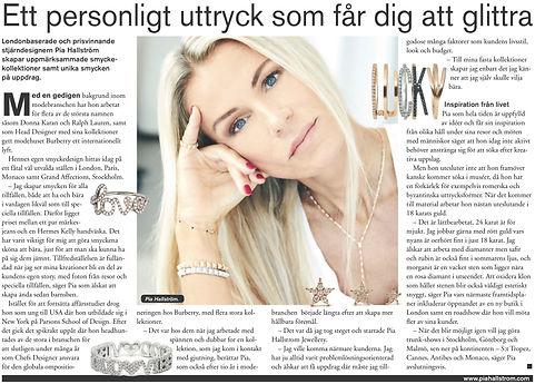 Pia Hallstrom Fine Jewellery Svenska Dagbladet