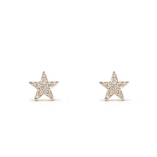 Star Stud Earrings Medium