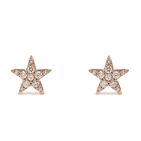 Star Stud Earrings XL