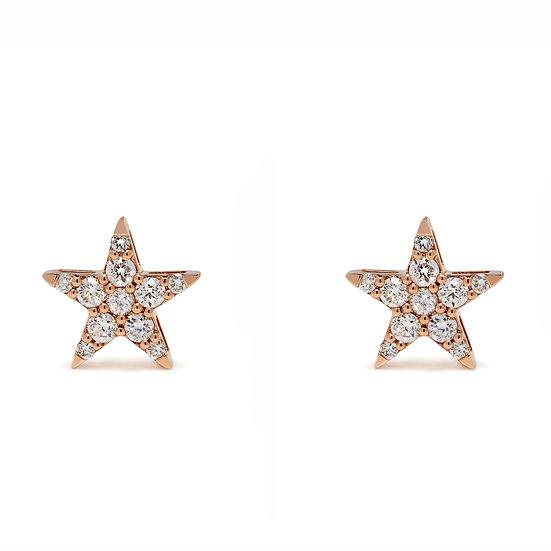 Star Stud Earrings XL