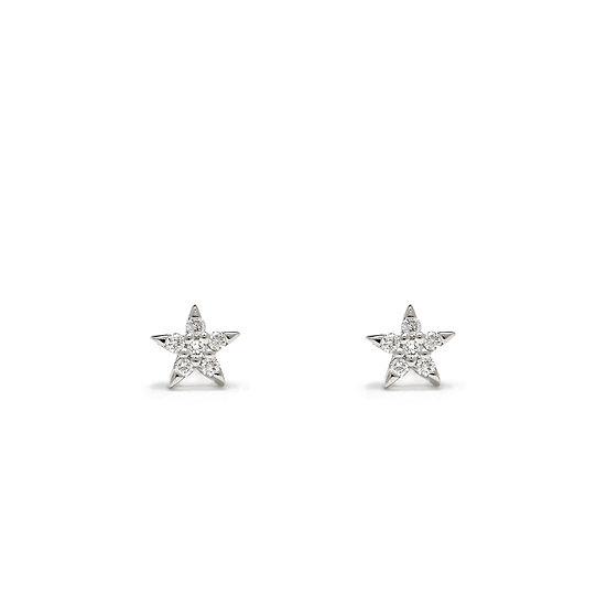 Star Stud Earrings Small