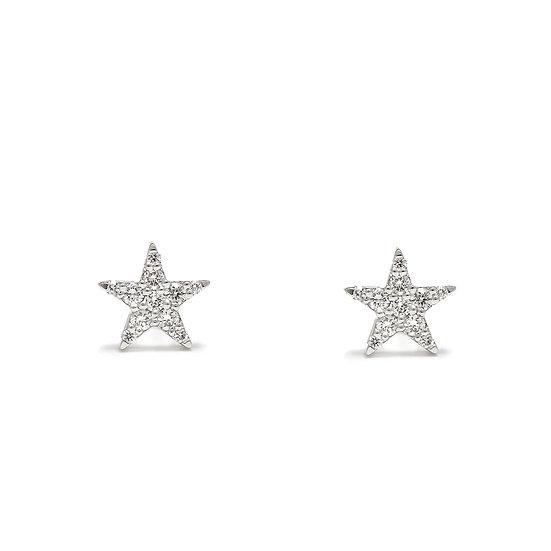 Star Stud Earrings Medium