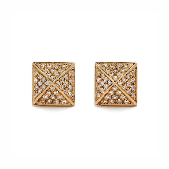Pyramid Earrings Large