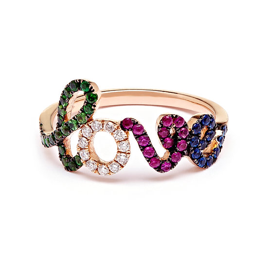 Love Ring Rainbow