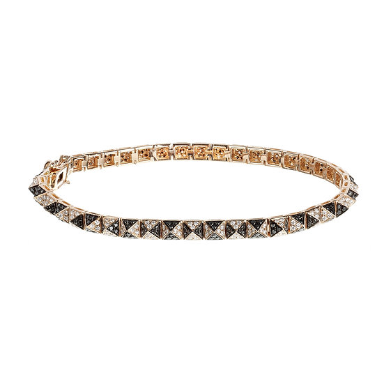 4mm Pyramid Bracelet