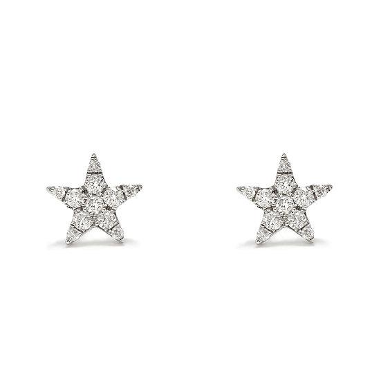 Star Stud Earrings Large
