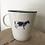 Thumbnail: 'Moo' farmhouse mug
