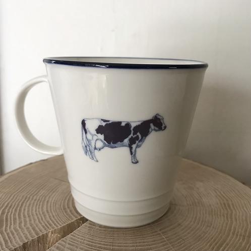 'Moo' farmhouse mug