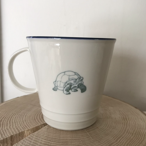 'Go-Slow' farmhouse mug