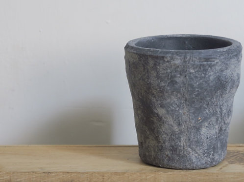 Slate coloured pot