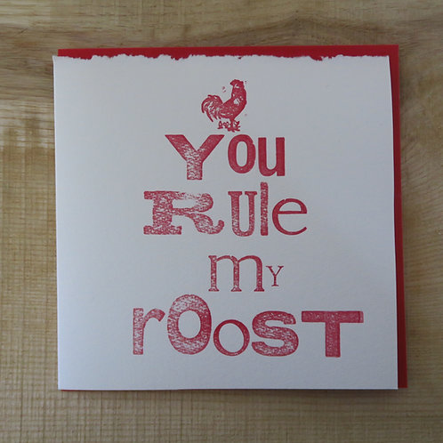 'You Rule' card