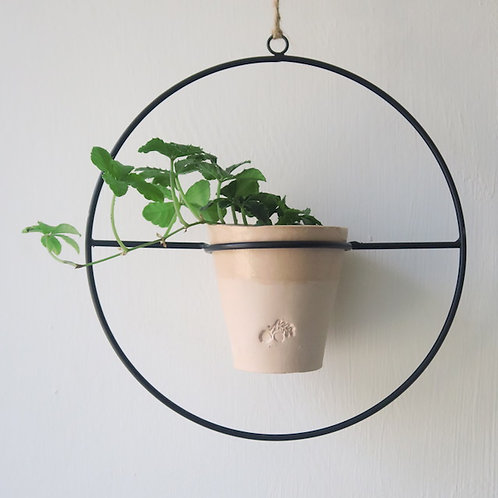 Wire hanging GS plant pot &  holder