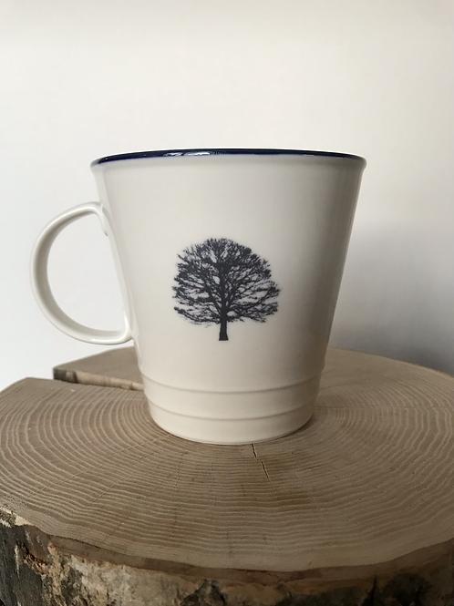 'Acorn to Oak' farmhouse mug