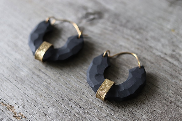 Porcelain jewellery - Earrings - Camille Estivals