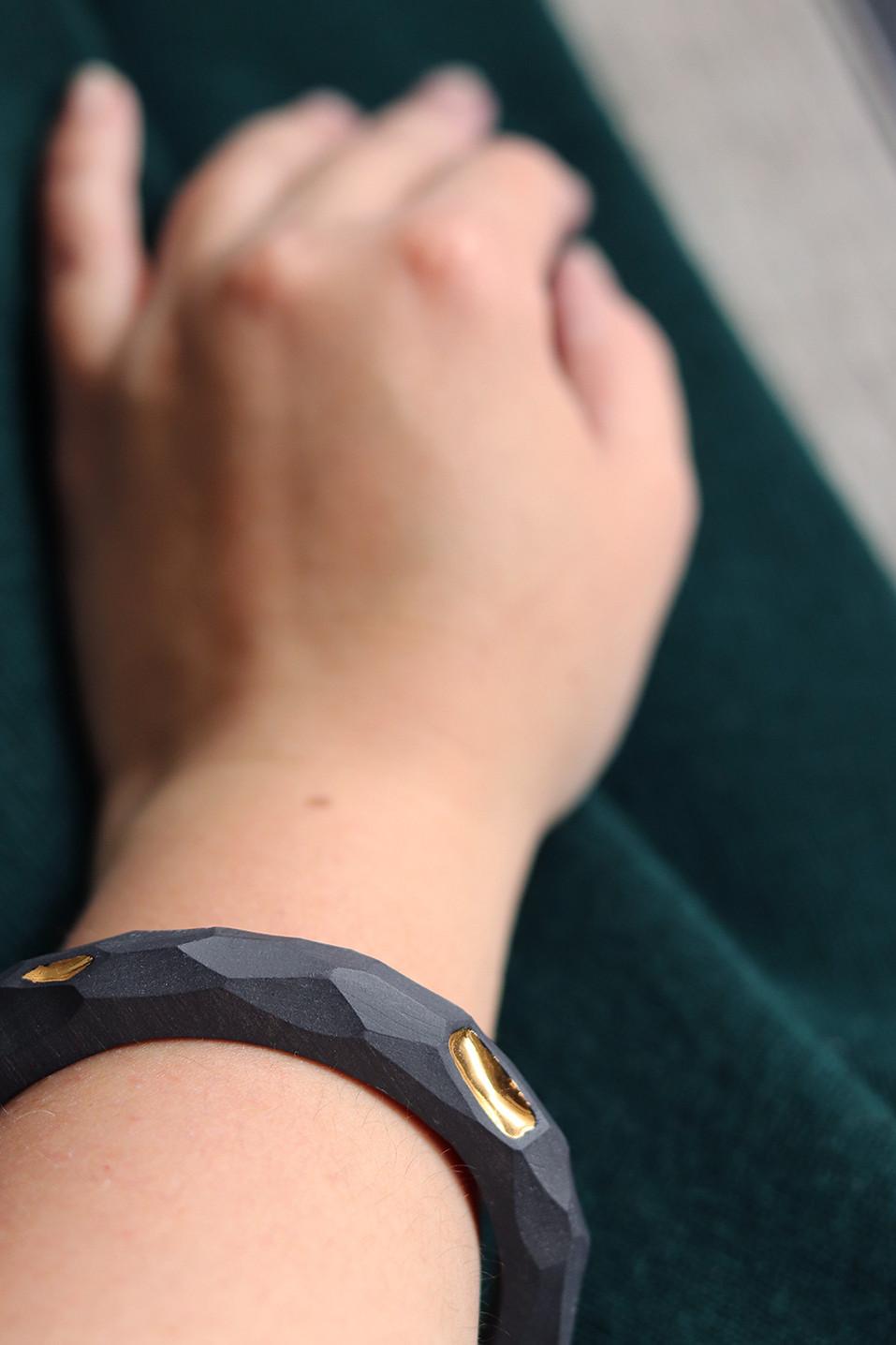 Bracelet jonc en porcelaine - Camille Estivals